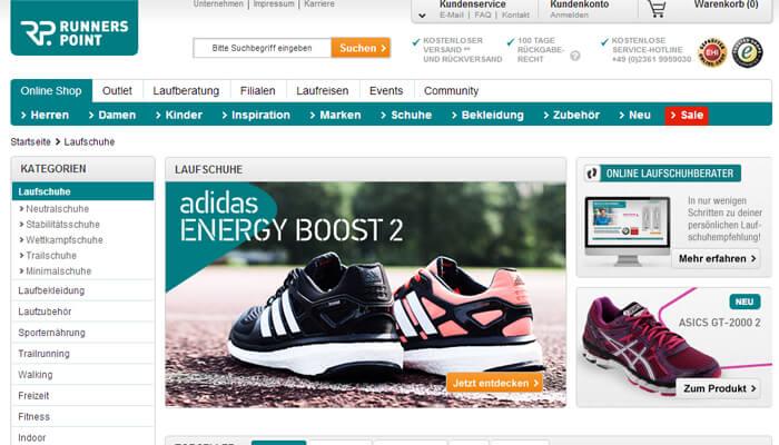 Laufschuhe kaufen bei Runners Point | Laufsportschuhe